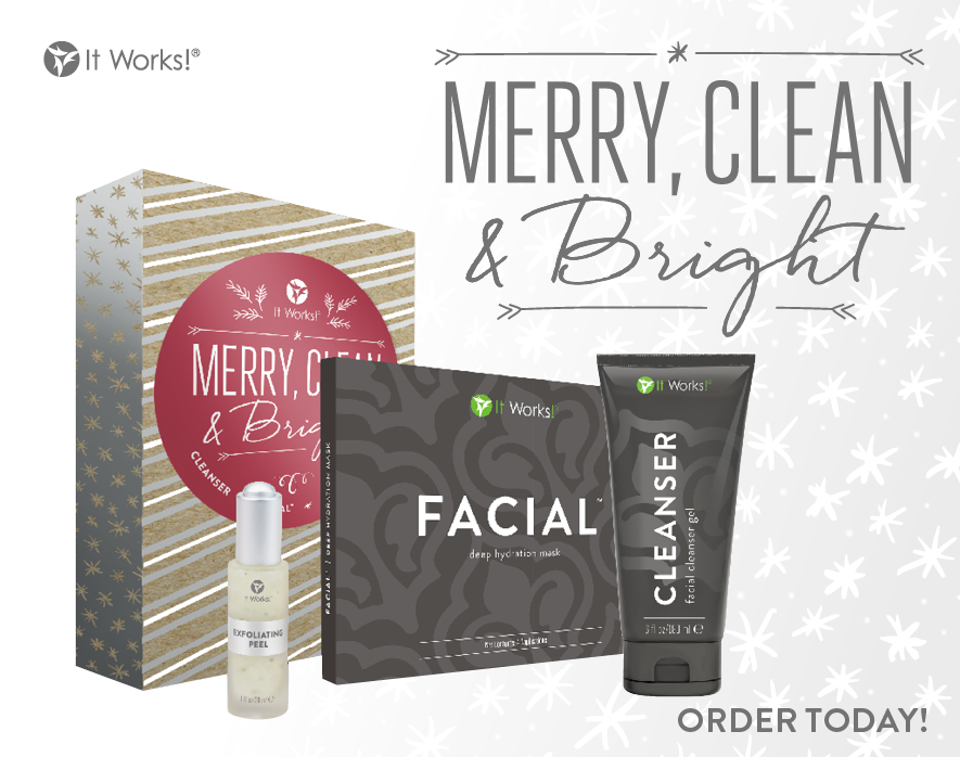It works holiday gift sets restored body wellness